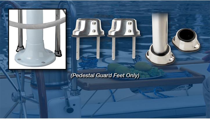 Pedestal Guard Feet